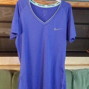 Nike Pro Dri-Fit T-Shirt Size Large